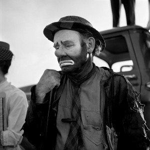 "7-Vivian-Maier-Emmett-Kelly-as-the-clown-figure-""Weary-Willie"""